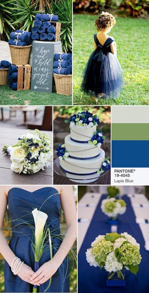 idee matrimonio blu