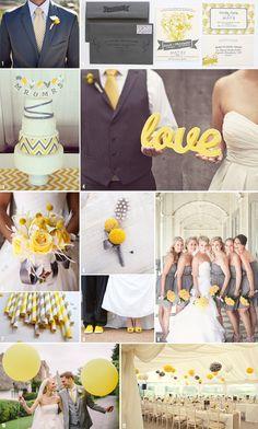 matrimonio colore giallo
