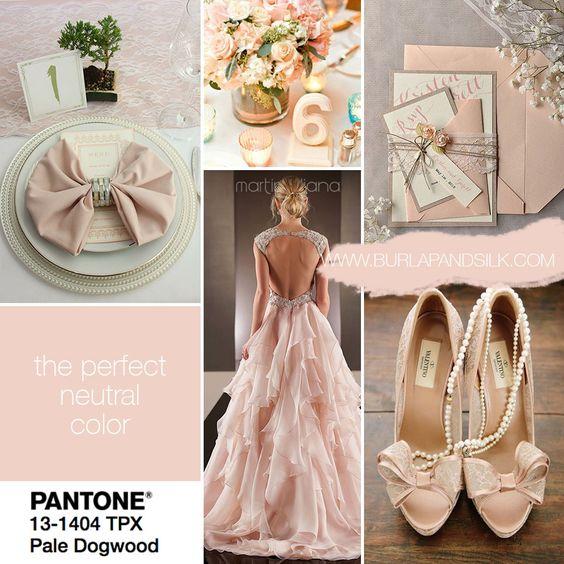 Matrimonio Tema Rosa Cipria : Pantone i colori da abbinare al tuo matrimonio