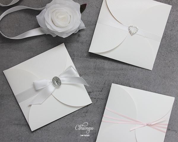 Partecipazioni Pocketfold romantiche o rustiche?