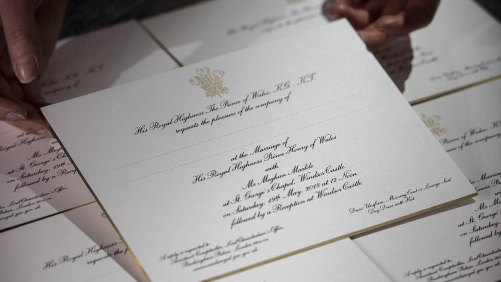 Partecipazioni di Nozze Reali: spunti e idee dall'ultimo Royal Wedding